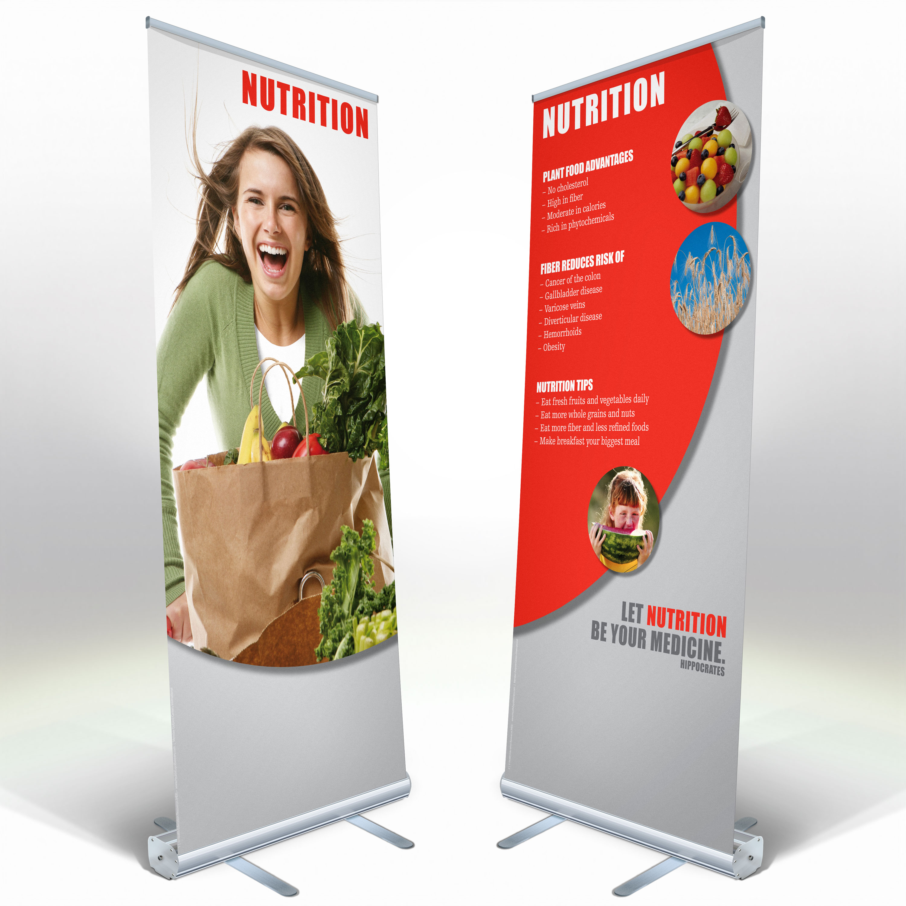 16 Banner Adult Health Expo Kit Indoor Health Expo Resources